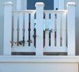 pvc balcony railings