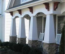 exterior arch