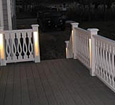 outdoor synthetic railing