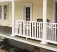 pvc porch railings 2
