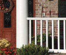 pvc railings
